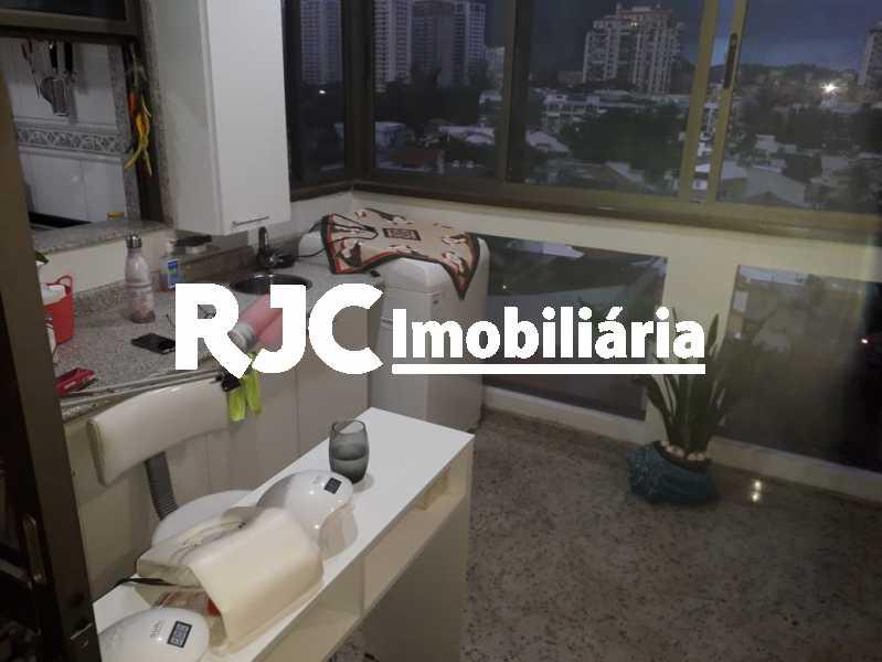 2 - Apartamento à venda Avenida Lúcio Costa,Barra da Tijuca, Rio de Janeiro - R$ 1.150.000 - MBAP25606 - 3