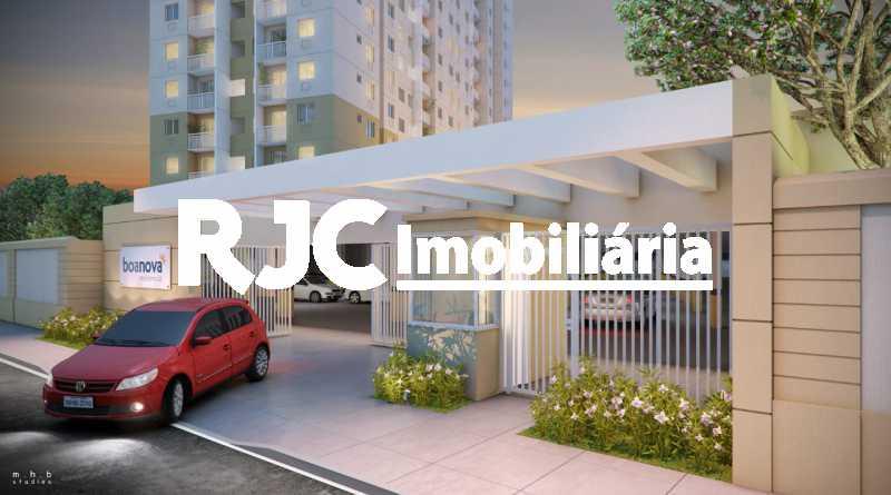 25 - Apartamento à venda Rua Piauí,Todos os Santos, Rio de Janeiro - R$ 250.000 - MBAP25628 - 23