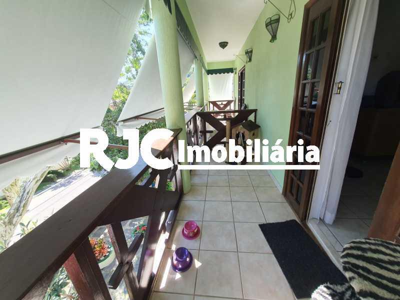 25. - Casa em Condomínio 4 quartos à venda Anil, Rio de Janeiro - R$ 1.480.000 - MBCN40021 - 25