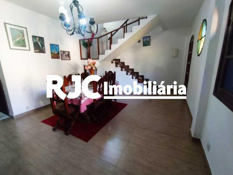 3 Sala de Baixo. - Casa de Vila à venda Rua Barão de Petrópolis,Rio Comprido, Rio de Janeiro - R$ 450.000 - MBCV30177 - 4