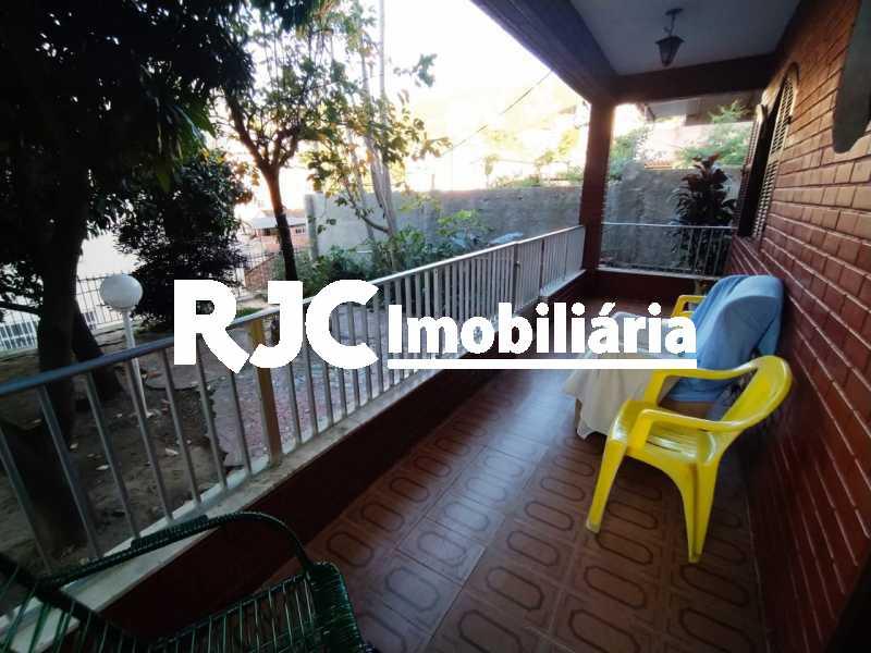 4 Varanda de Baixo. - Casa de Vila à venda Rua Barão de Petrópolis,Rio Comprido, Rio de Janeiro - R$ 450.000 - MBCV30177 - 5