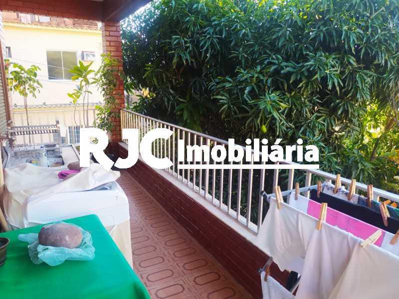 5 Varanda de Cima. - Casa de Vila à venda Rua Barão de Petrópolis,Rio Comprido, Rio de Janeiro - R$ 450.000 - MBCV30177 - 6