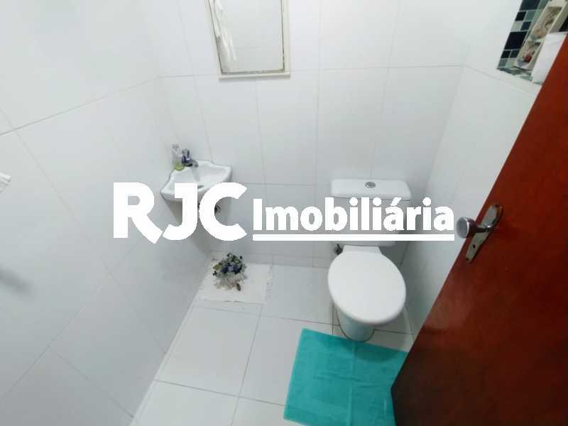 12 Lavabo. - Casa de Vila à venda Rua Barão de Petrópolis,Rio Comprido, Rio de Janeiro - R$ 450.000 - MBCV30177 - 13
