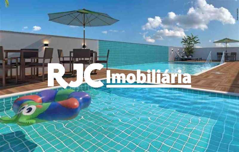 1 - Apartamento à venda Rua General Espírito Santo Cardoso,Tijuca, Rio de Janeiro - R$ 576.000 - MBAP25721 - 1