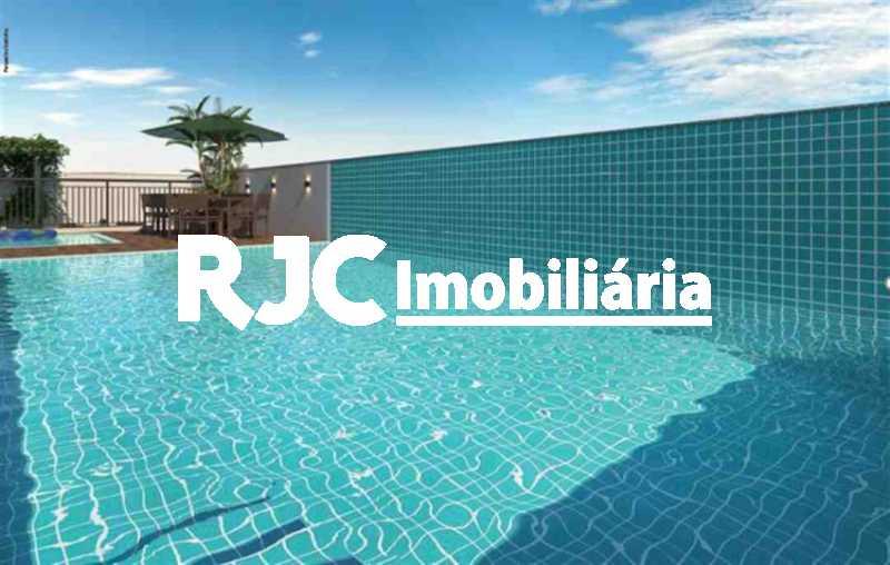 2 - Apartamento à venda Rua General Espírito Santo Cardoso,Tijuca, Rio de Janeiro - R$ 576.000 - MBAP25721 - 3