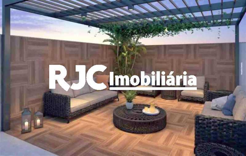 8 - Apartamento à venda Rua General Espírito Santo Cardoso,Tijuca, Rio de Janeiro - R$ 576.000 - MBAP25721 - 9