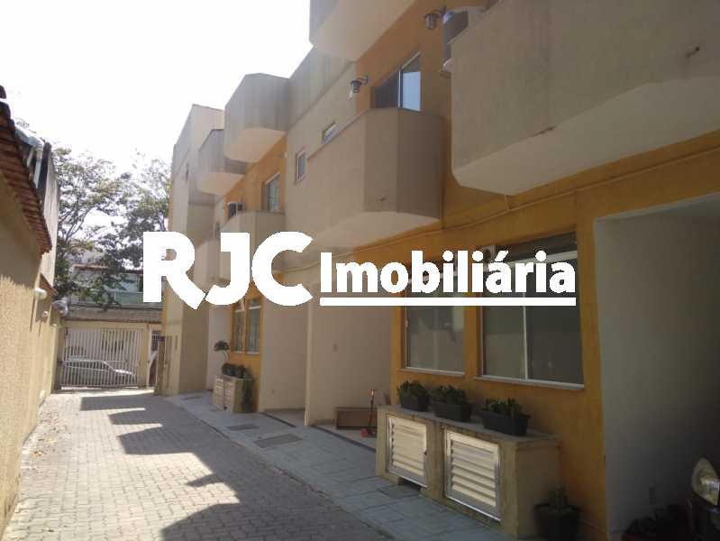 1 - Casa de Vila 3 quartos à venda Riachuelo, Rio de Janeiro - R$ 320.000 - MBCV30182 - 1