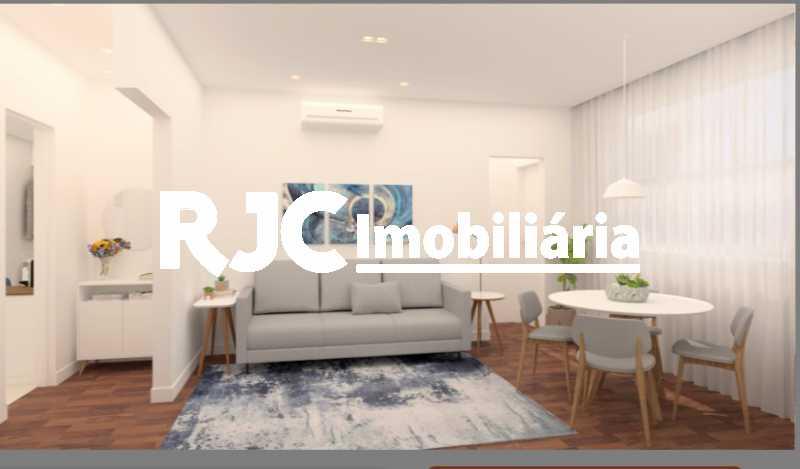 1 - Apartamento à venda Rua Décio Vilares,Copacabana, Rio de Janeiro - R$ 869.000 - MBAP25735 - 1