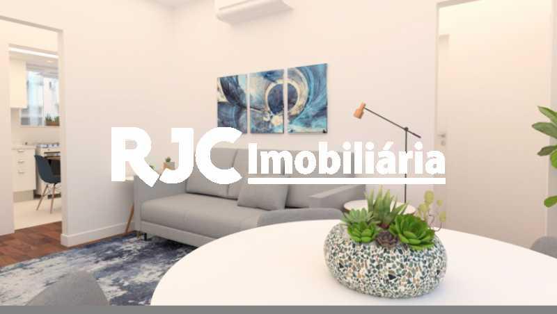 2 - Apartamento à venda Rua Décio Vilares,Copacabana, Rio de Janeiro - R$ 869.000 - MBAP25735 - 3