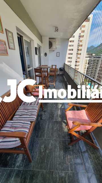 02. - Apartamento à venda Rua do Humaitá,Humaitá, Rio de Janeiro - R$ 1.330.000 - MBAP33661 - 3