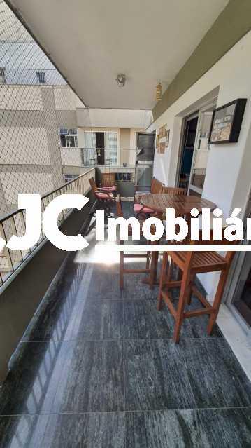 2. - Apartamento à venda Rua do Humaitá,Humaitá, Rio de Janeiro - R$ 1.330.000 - MBAP33661 - 4