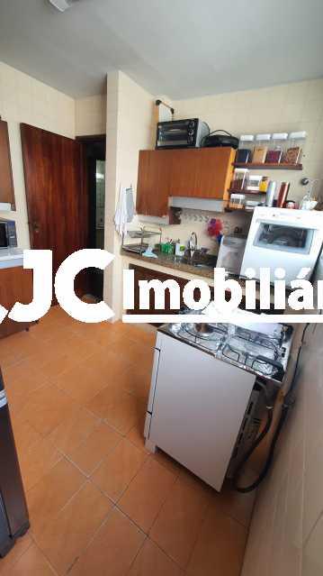 14. - Apartamento à venda Rua do Humaitá,Humaitá, Rio de Janeiro - R$ 1.330.000 - MBAP33661 - 16
