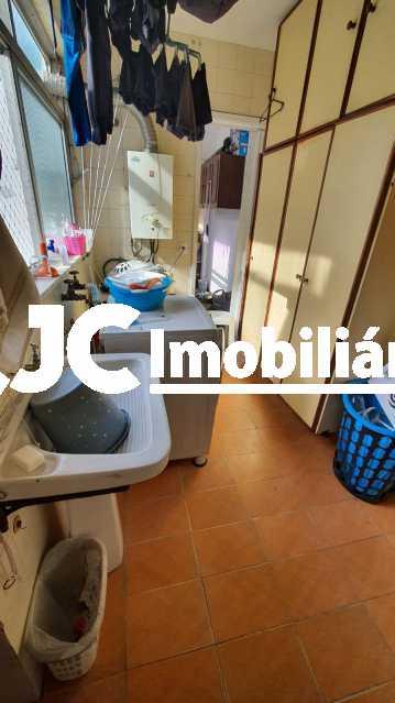 16. - Apartamento à venda Rua do Humaitá,Humaitá, Rio de Janeiro - R$ 1.330.000 - MBAP33661 - 18
