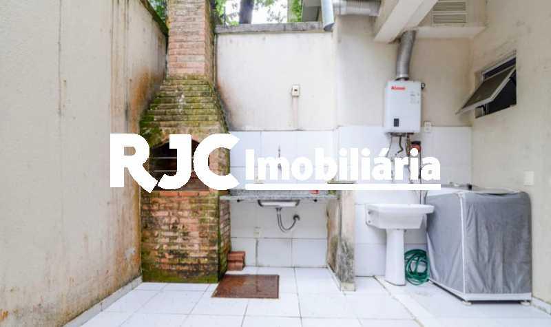 17 - Casa em Condomínio à venda Rua São Miguel,Tijuca, Rio de Janeiro - R$ 580.000 - MBCN20012 - 19