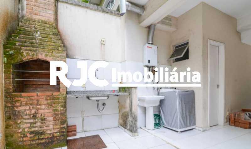22 - Casa em Condomínio à venda Rua São Miguel,Tijuca, Rio de Janeiro - R$ 580.000 - MBCN20012 - 24