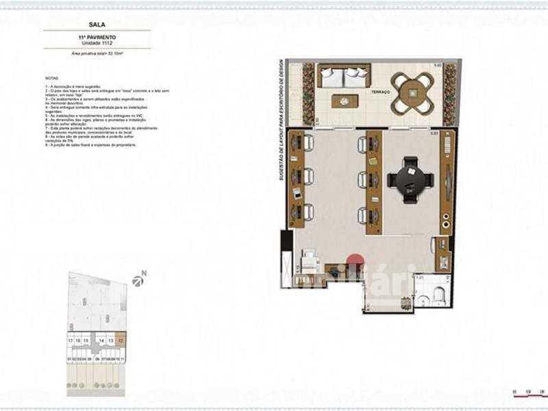 FOTO 5 - Sala Comercial 26m² à venda Tijuca, Rio de Janeiro - R$ 239.000 - MBSL00099 - 11
