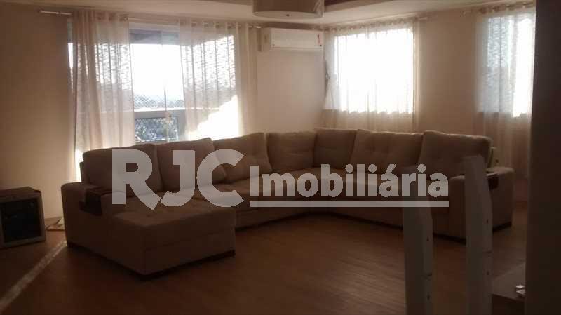 1 - Cobertura 4 quartos à venda Riachuelo, Rio de Janeiro - R$ 580.000 - MBCO40044 - 1