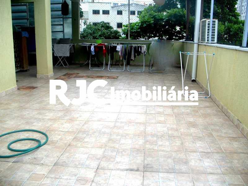 9     Terraço - Casa de Vila 3 quartos à venda Rio Comprido, Rio de Janeiro - R$ 640.000 - MBCV30042 - 18