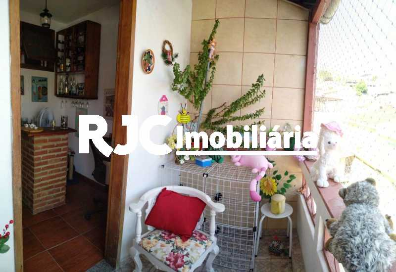 12 - Varanda da Frente 2ºar - Casa de Vila 3 quartos à venda Vila Isabel, Rio de Janeiro - R$ 590.000 - MBCV30044 - 15