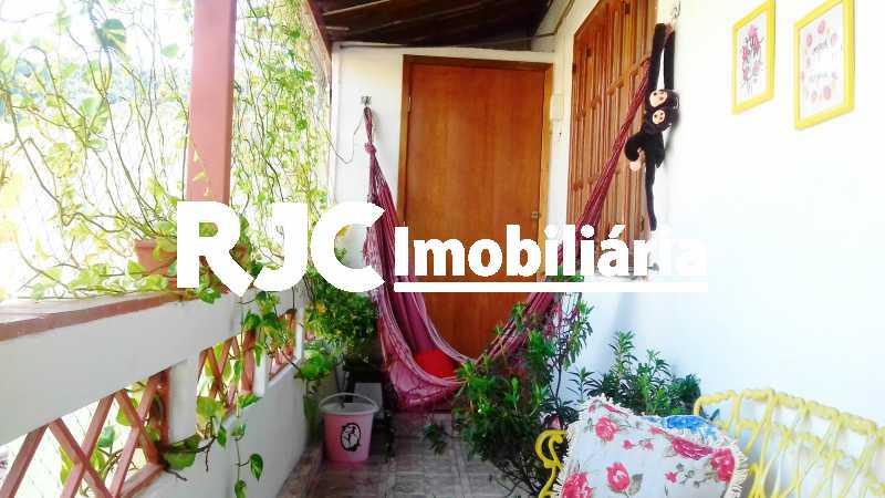12.1 -Varanda da frente 2ºar - Casa de Vila 3 quartos à venda Vila Isabel, Rio de Janeiro - R$ 590.000 - MBCV30044 - 16