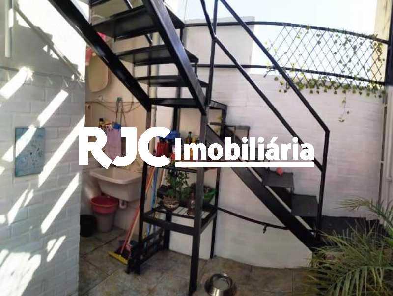 17.3 - Varanda da área de ser - Casa de Vila 3 quartos à venda Vila Isabel, Rio de Janeiro - R$ 590.000 - MBCV30044 - 22