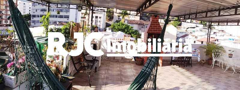 18.2 - Terraço - Casa de Vila 3 quartos à venda Vila Isabel, Rio de Janeiro - R$ 590.000 - MBCV30044 - 24