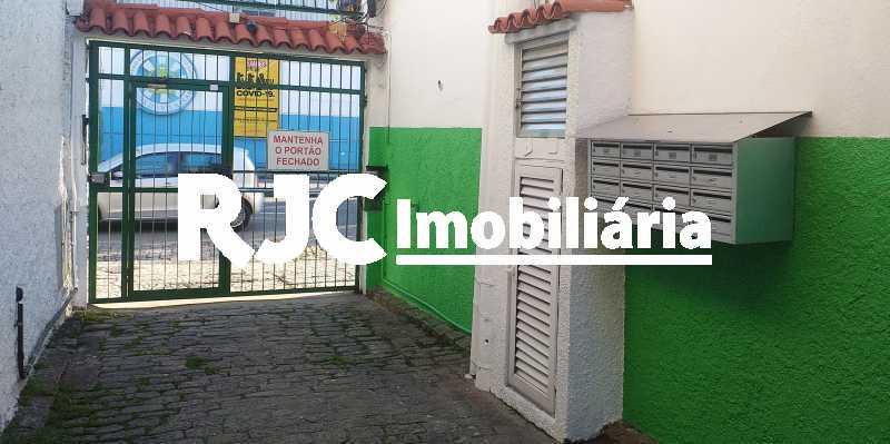 19.1 Portão externo da Vila - Casa de Vila 3 quartos à venda Vila Isabel, Rio de Janeiro - R$ 590.000 - MBCV30044 - 26