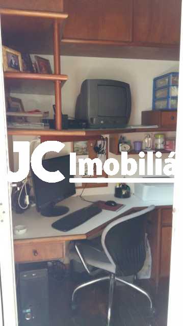18 - Apartamento à venda Rua do Humaitá,Humaitá, Rio de Janeiro - R$ 990.000 - MBAP22378 - 19