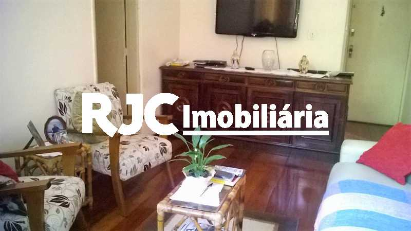 3      Sala - Apartamento 2 quartos à venda Grajaú, Rio de Janeiro - R$ 380.000 - MBAP23172 - 4