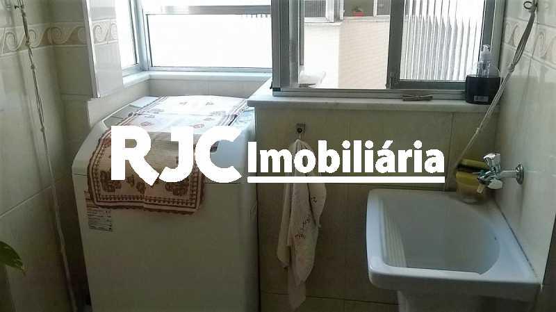 16    Área de Serviço - Apartamento 2 quartos à venda Grajaú, Rio de Janeiro - R$ 380.000 - MBAP23172 - 17