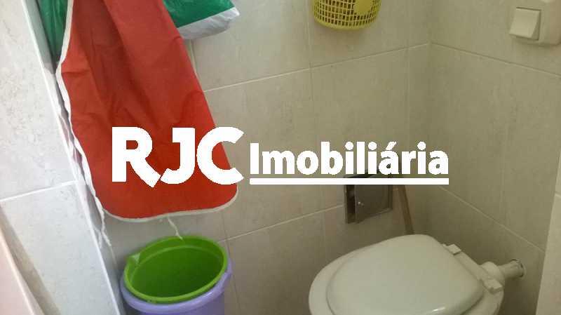 17    Banheiro de Empregada - Apartamento 2 quartos à venda Grajaú, Rio de Janeiro - R$ 380.000 - MBAP23172 - 18