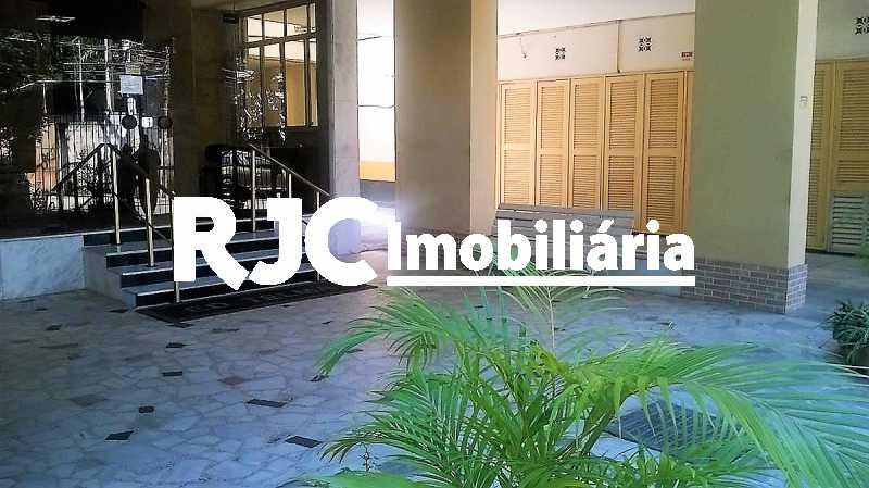 20      Entrada Social - Apartamento 2 quartos à venda Grajaú, Rio de Janeiro - R$ 380.000 - MBAP23172 - 20