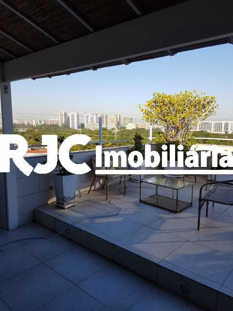 20170630_155334 2 - Cobertura 3 quartos à venda Barra da Tijuca, Rio de Janeiro - R$ 2.368.421 - MBCO30205 - 1