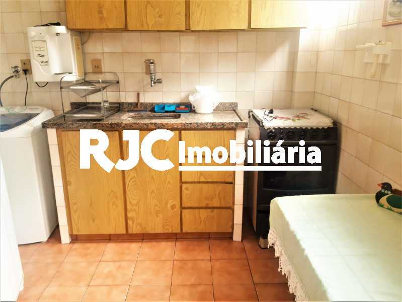 FOTO 15 - Apartamento 1 quarto à venda Tijuca, Rio de Janeiro - R$ 370.000 - MBAP10556 - 16
