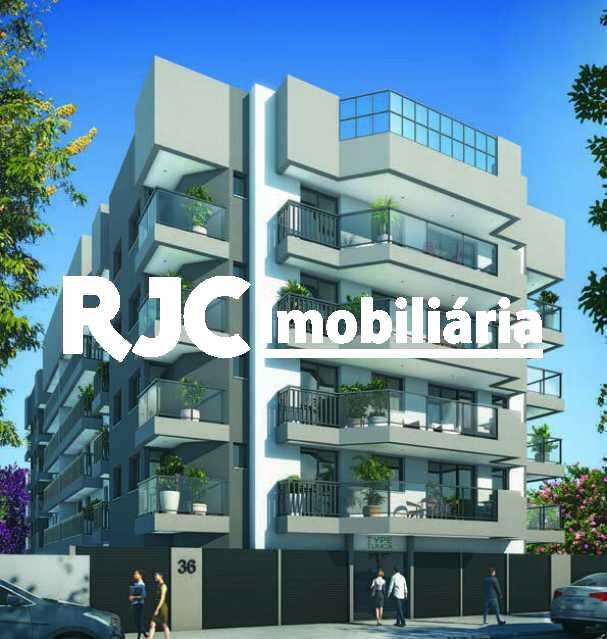 08 - Apartamento 2 quartos à venda Maracanã, Rio de Janeiro - R$ 688.896 - MBAP23408 - 9