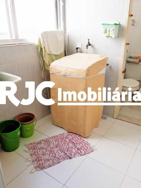 FOTO 21 - Apartamento 1 quarto à venda Grajaú, Rio de Janeiro - R$ 350.000 - MBAP10729 - 22