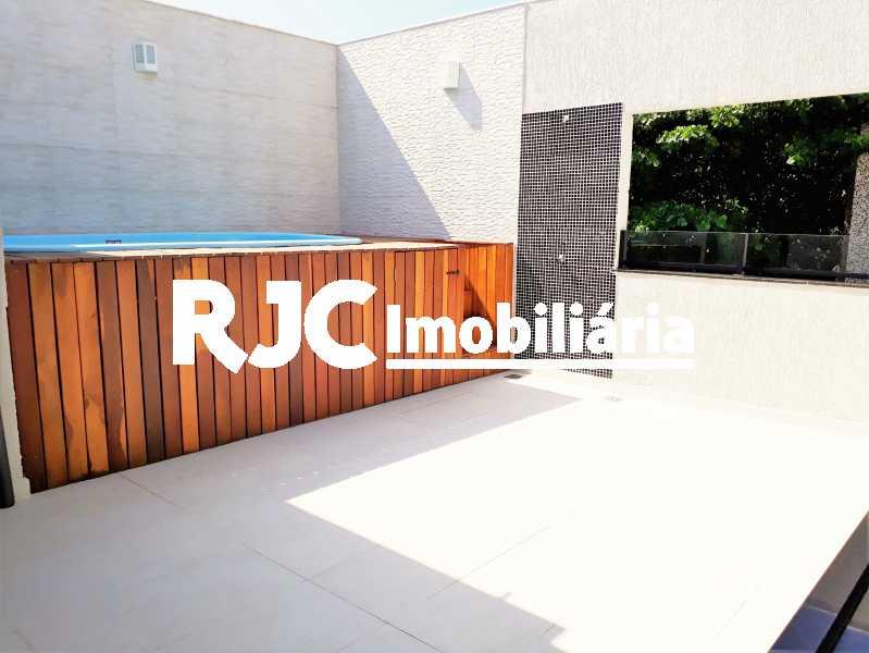 FOTO 1 - Casa 3 quartos à venda Maracanã, Rio de Janeiro - R$ 800.000 - MBCA30168 - 1