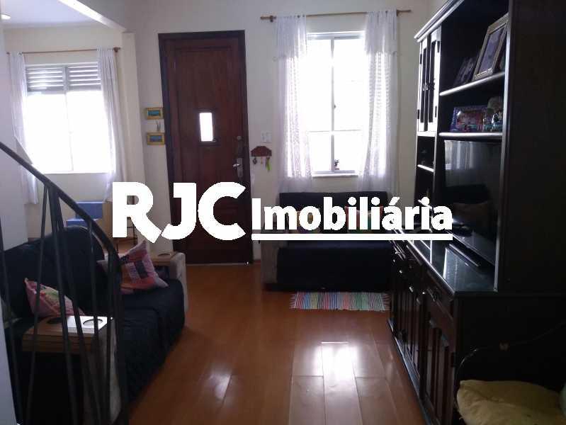 1 - Casa de Vila 3 quartos à venda Maracanã, Rio de Janeiro - R$ 600.000 - MBCV30115 - 1