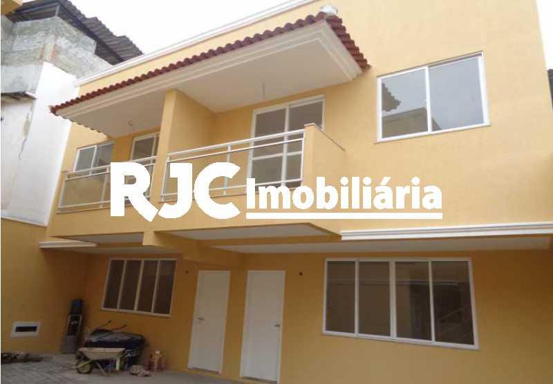01 - Casa de Vila 3 quartos à venda Méier, Rio de Janeiro - R$ 395.000 - MBCV30120 - 1