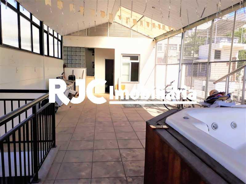 FOTO 1 - Casa de Vila 2 quartos à venda Tijuca, Rio de Janeiro - R$ 815.000 - MBCV20072 - 1