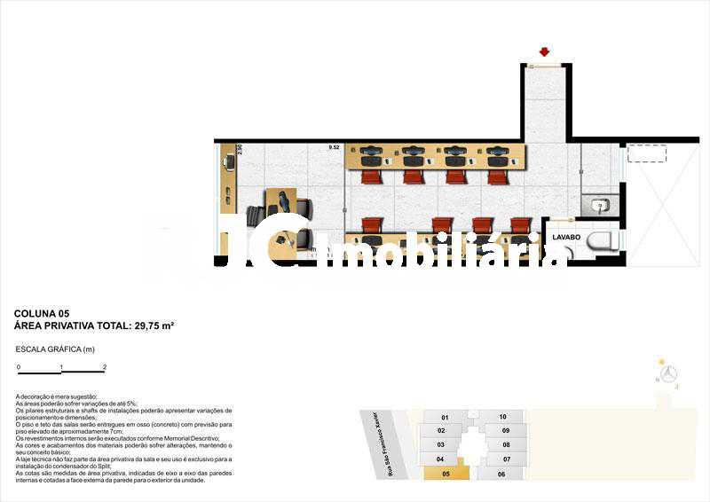 IMG-20191104-WA0037 - Sala Comercial 29m² à venda Tijuca, Rio de Janeiro - R$ 320.000 - MBSL00239 - 4