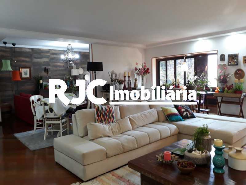 1 Copy - Apartamento 4 quartos à venda Santa Teresa, Rio de Janeiro - R$ 630.000 - MBAP40411 - 1