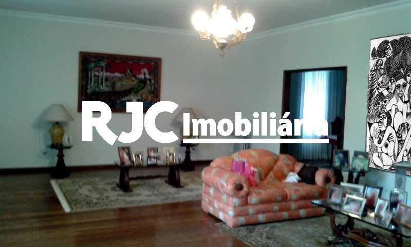 2 - Casa 5 quartos à venda Grajaú, Rio de Janeiro - R$ 1.299.000 - MBCA50076 - 3