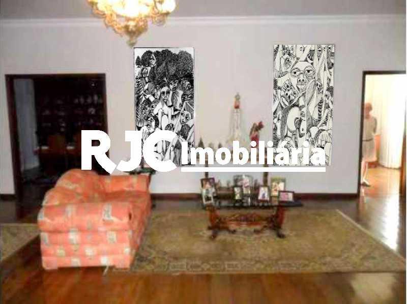 3 - Casa 5 quartos à venda Grajaú, Rio de Janeiro - R$ 1.299.000 - MBCA50076 - 4