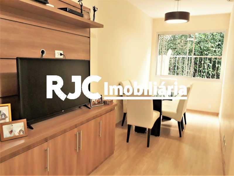 FOTO 1 - Apartamento 2 quartos à venda Rio Comprido, Rio de Janeiro - R$ 350.000 - MBAP24385 - 1