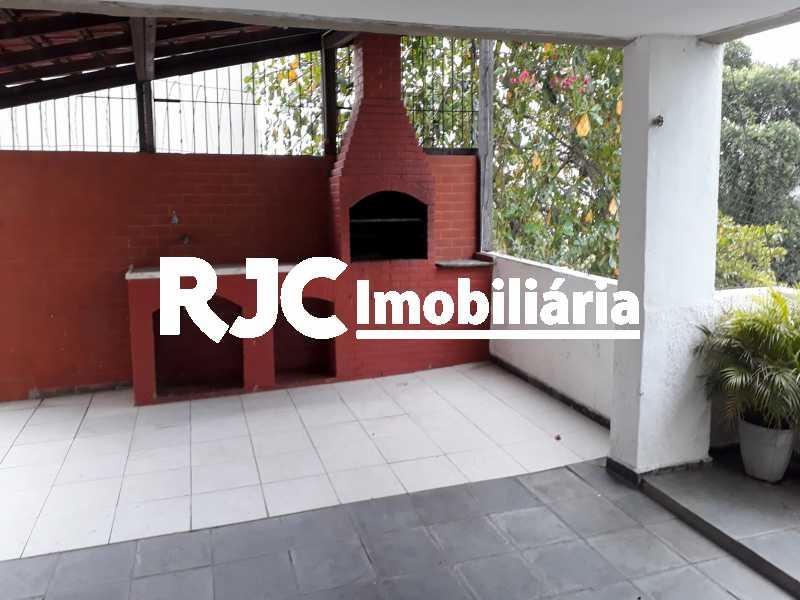 17  Churrasqueira - Apartamento 2 quartos à venda Rocha, Rio de Janeiro - R$ 205.000 - MBAP24452 - 18