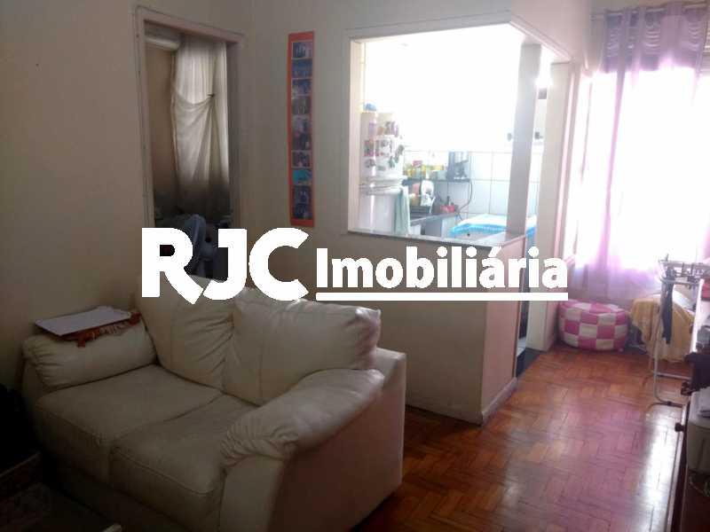2    Sala - Apartamento 1 quarto à venda Tijuca, Rio de Janeiro - R$ 265.000 - MBAP10812 - 3