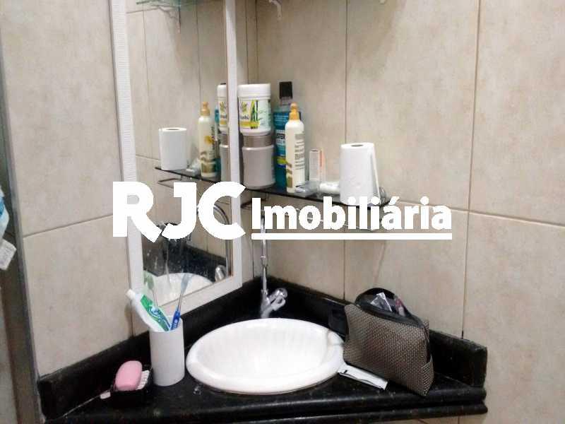 6   Banheiro Social - Apartamento 1 quarto à venda Tijuca, Rio de Janeiro - R$ 265.000 - MBAP10812 - 7