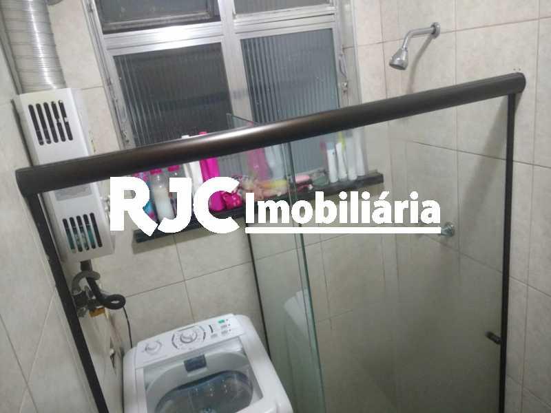 8   Banheiro Social - Apartamento 1 quarto à venda Tijuca, Rio de Janeiro - R$ 265.000 - MBAP10812 - 9
