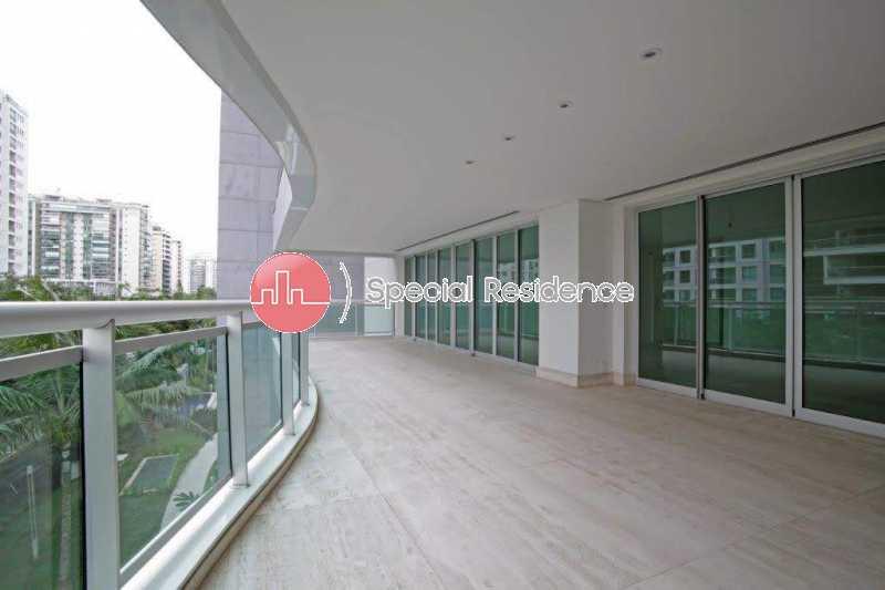 02_Varanda - Apartamento 4 quartos à venda Barra da Tijuca, Rio de Janeiro - R$ 2.600.000 - 400275 - 3